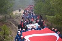 Karabük'te Sarıkamış Şehitlerini Anma Yürüyüşü Yapıldı