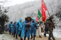 Kocaeli'de Binler Kar Altında Sarıkamış Şehitleri İçin Yürüdü