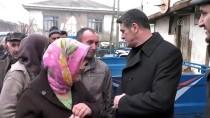 MHP Milletvekili Yılmaz'dan Evi Yanan Aileye Ziyaret