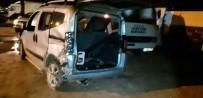 Midyat'ta Trafik Kazası Açıklaması 4 Yaralı