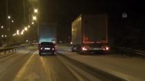 TIR ŞOFÖRÜ - Samsun-Ankara Kara Yolunda Ulaşımda Aksama