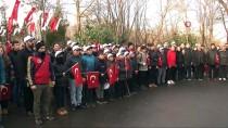 BEYKOZ BELEDİYESİ - Yüzlerce Genç, Ellerinde Bayraklarla Sarıkamış Şehitleri İçin Yürüdü
