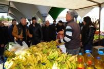 SARıLAR - Başkan Sözen Sarılar Pazarını Gezdi