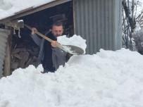 Bingöl'de Yoğun Kar Yağışı İlçelerde Etkili Oldu