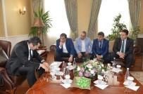 SPOR KOMPLEKSİ - Çelebispor Kulübü'nden Vali Memiş'e 'Hayırlı Olsun' Ziyareti