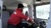 Helikopter Ambulans KOAH Hastası İçin Havalandı