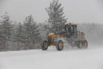 Ilgaz Dağı Milli Parkında Kar Kalınlığı 130 Santimetreye Ulaştı