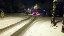 E5 KARAYOLU - İstanbul'da Kar Yağışı Etkili Oluyor