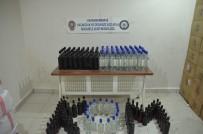 Kahramanmaraş'ta 160 Şişe Sahte İçki Ve 800 Kilo Tütün Ele Geçirildi
