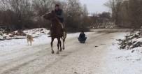 Karda Kaymanın Formülünü Atında Buldu