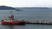 SAVAŞ GEMİSİ - Rus Askeri Gemisi Çanakkale Boğazı'ndan Geçti