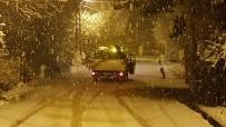 Safranbolu'da Kar Yağışı Etkili Oldu