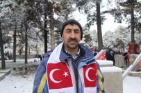 ŞEYH ŞAMIL - Sarıkamış Şehitleri İçin Kars'tan Eskişehir'e Geldi