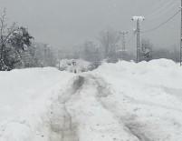 Tunceli'de Kar Nedeniyle 220 Köy Yolu Kapalı