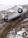 Yozgat'ta Trafik Kazası 2 Yaralı