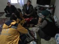 2 Bin 800 Rakımlı Köyde Hasta Kurtarma Operasyonu