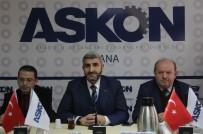 ÇUKUROVA GAZETECILER CEMIYETI - ASKON, Çalışan Gazeteciler Günü'nü Kutladı