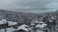 BÜLENT ECEVIT - Beyaza Bürünen Zonguldak Havadan Görüntülendi