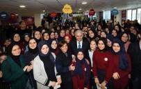 TENZILE ERDOĞAN - Binali Yıldırım,Tenzile Erdoğan Kız Anadolu İmam Hatip Lisesi'ni Ziyaret Etti