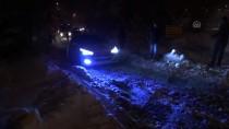 YAKIN TAKİP - Düzce'de Kar Yağışı Etkili Oluyor