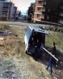 İnşaat İskelesini Çalan 2 Şahıs Güvenlik Kamerasına Yakalandı