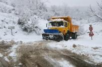 Kar Yüksek Kesimlerde 70 Santimetreyi Buldu