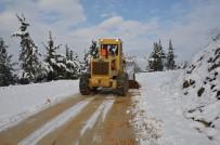 YENIKÖY - Karla Mücadele Çalışmaları Kesintisiz Sürüyor