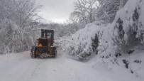 Kırklareli'de Karla Mücadele Çalışmaları Devam Ediyor