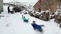 KAVAKLı - Köy Çocukları Karın Tadını Çıkardı