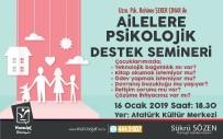 DAVRANIŞ BOZUKLUĞU - Manavgat'ta 'Ailelere Psikolojik Destek Semineri'