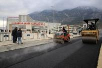 CENGIZ ERGÜN - Manisa Şehir Hastanesi'nde Asfalt Uygulamasına Başlanıldı