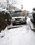 İŞ MAKİNASI - Osmangazi'de Karla Mücadele Seferberliği