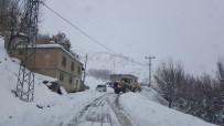 YARıMCA - Siirt'te 60 Köy Yolu Ulaşıma Kapandı