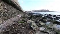 Silivri'de Deniz Çekilmesi