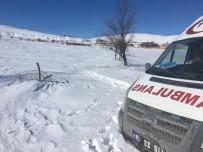 SAFRA KESESİ AMELİYATI - 112 Ekibi Mahsur Hastayı Sedyeyle 2 Kilometre Taşıdı
