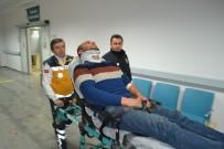 Aksaray'da Un Yüklü Tır Devrildi Açıklaması 1 Yaralı