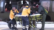 Askeri Helikopter Rahatsızlanan Hasta İçin Havalandı