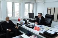 YUSUF ZIYA GÜNAYDıN - Başkan Günaydın'dan Akademisyenlik Yaptığı SDÜ'ye Ziyaret