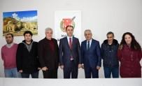 MEHMET ÇELIK - Başsavcı Bektaş, Gazetecilerle Bir Araya Geldi