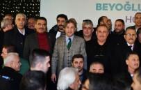 AHMET MISBAH DEMIRCAN - Beyoğlu Belediye Başkanı Demircan Açıklaması 'Binali Yıldırım İstanbul'un Şansıdır'