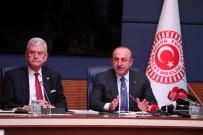 ÜÇLÜ ZİRVE - Dışişleri Bakanı Çavuşoğlu Açıklaması 'Fırat'ın Doğusunda Da Bu Adımları Atmaktan Çekinmeyeceğiz'