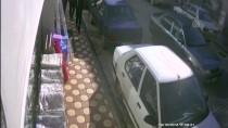 Evin Deposuna Giren Hırsızlar Güvenlik Kamerasına Yakalandı
