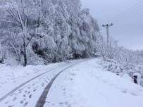 İTFAİYE ARACI - Fatsa'da Kırsalda Karla Mücadele