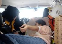 YÜKSEK ATEŞ - Hasta Çocuk Hastaneye 2 Saatte Ulaştırıldı