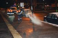 Kdz Ereğli Belediyesi Gece Boyu Tuzlama Yaptı