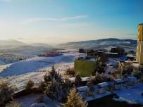 Kilis'e Yılın İlk Kar Yağışı