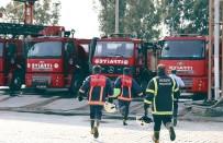 TATBIKAT - Mersin'de 2018 Yılında 6 Bin 177 Yangın Olayı Yaşandı