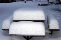 Nevşehir'de Kar Kalınlığı 25 Santime Ulaştı