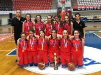 BASKETBOL TAKIMI - SANKO Okulları Yıldız Kız Basketbol Takımı İl Şampiyonu Oldu