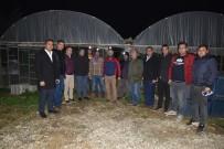 DEMRE - Tarım İl Müdürü Özen Çiftçilerle Nöbet Tuttu